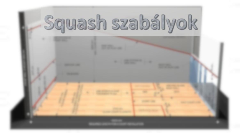 Squash/fallabda szabályok